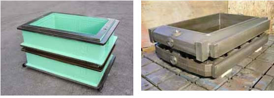 Foundry flasks | pallet cars | foundry jackets