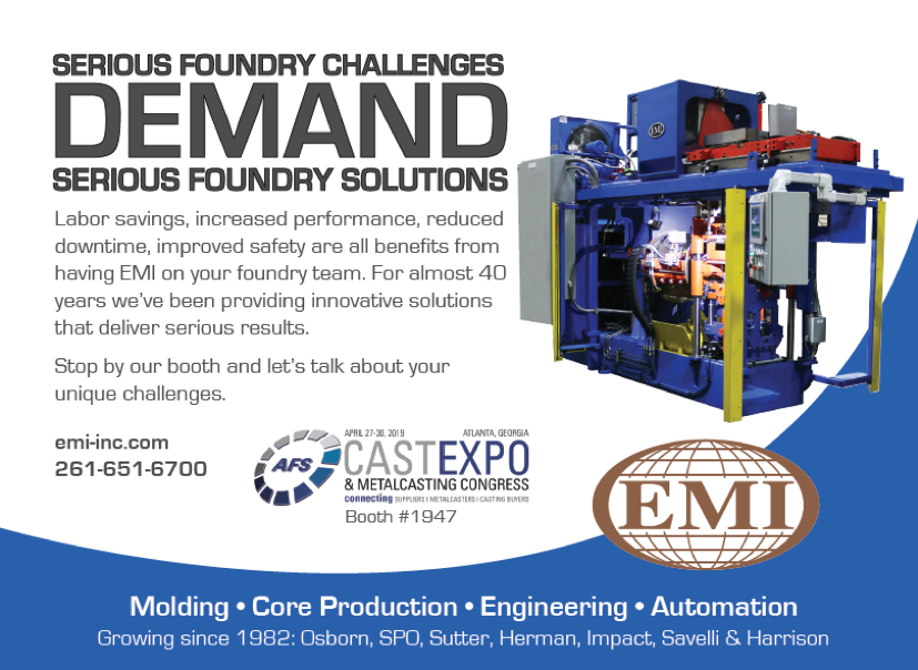 Serious Foundry Solutions Demand Serious Foundry Solutions