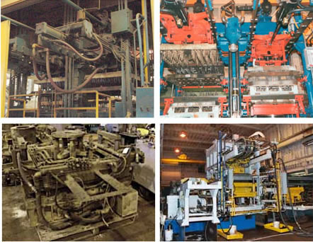 EMI foundry equipment remanufacturing